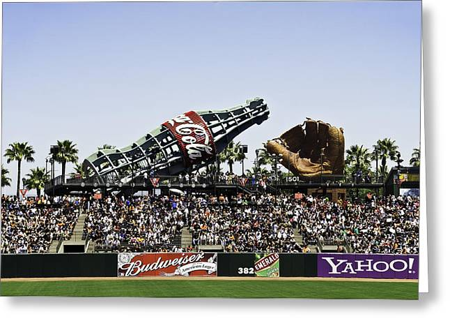 San Francisco Giants Baseball Park Greeting Card