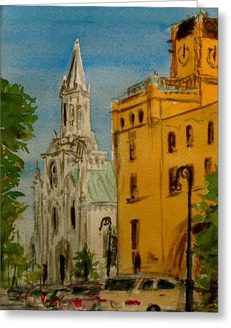 Savannah Noon Greeting Card