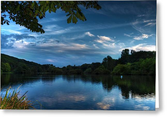 Scarborough Mere Greeting Card by Svetlana Sewell