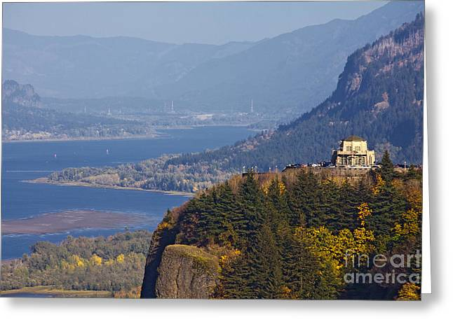 Scenic River Valley Greeting Card