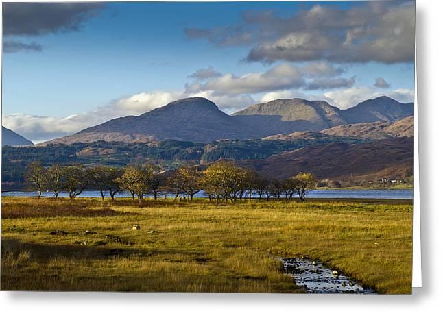 Scottish Landscape View Greeting Card