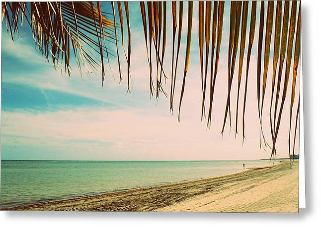 Seaside Canopy Greeting Card by JAMART Photography