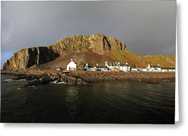 Seil Island Greeting Card