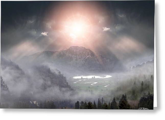 Silent Night Greeting Card by Bill Stephens