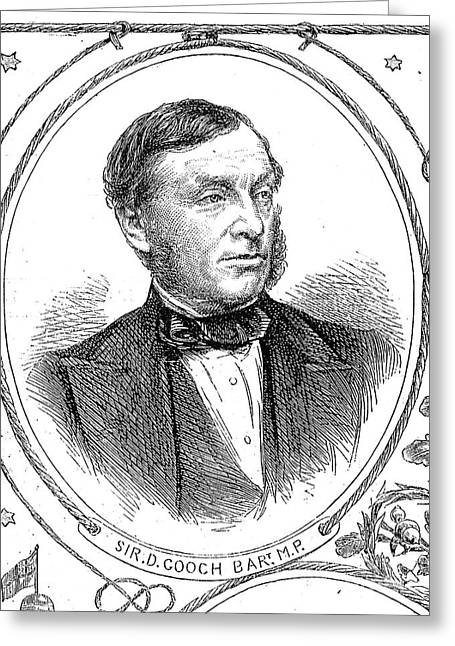 Sir Daniel Gooch Greeting Card