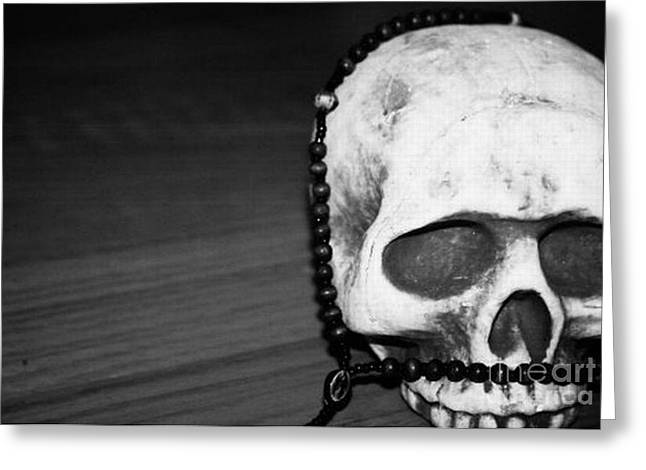 Skull 1 Greeting Card