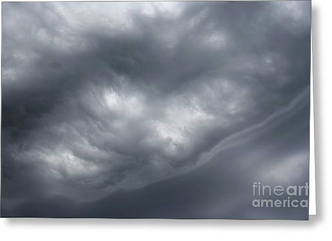 Sky Before Rain Greeting Card by Michal Boubin