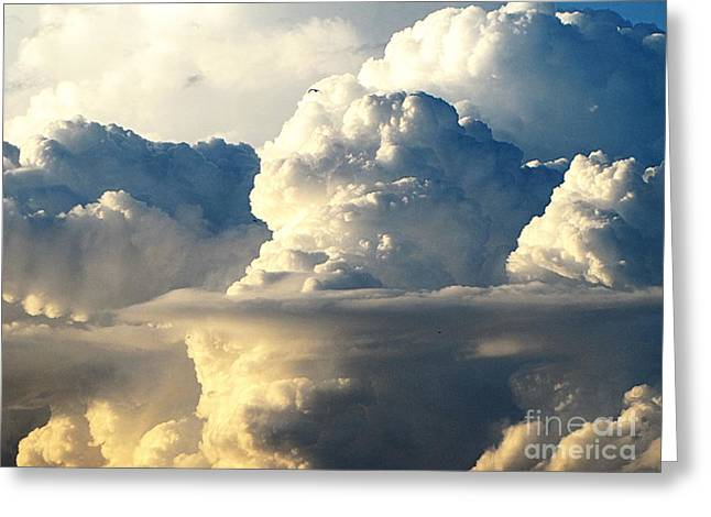Sky Sky Greeting Card by Yury Bashkin