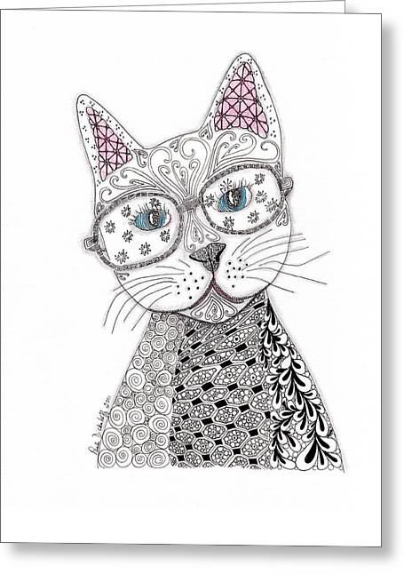 Spec-catular Greeting Card by Paula Dickerhoff