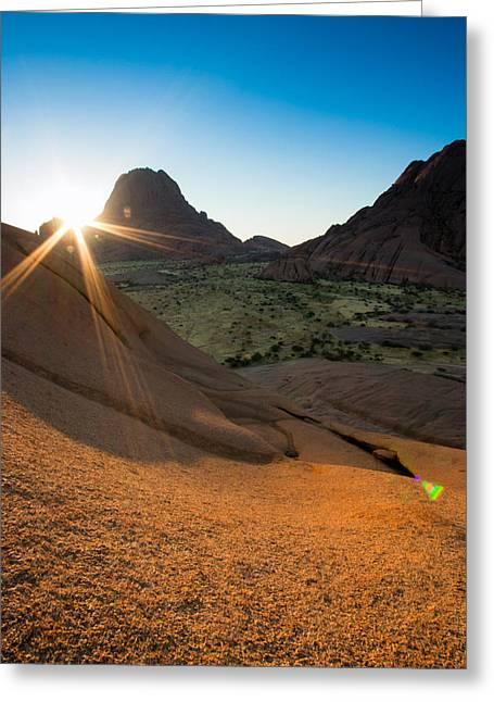 Spitskoppe Sunset Greeting Card