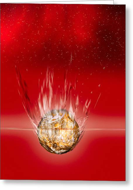 Splash Down Greeting Card
