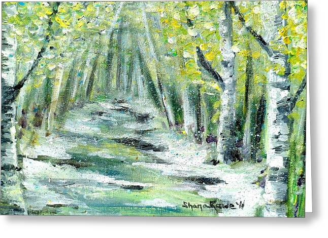 Greeting Card featuring the painting Spring by Shana Rowe Jackson