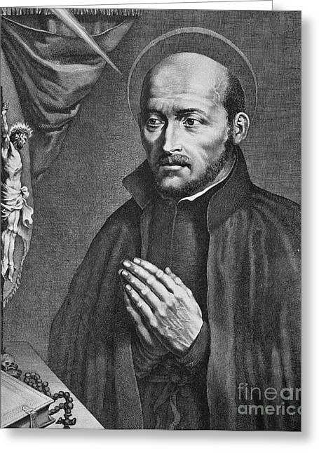 St. Ignatius Loyola Greeting Card by Granger