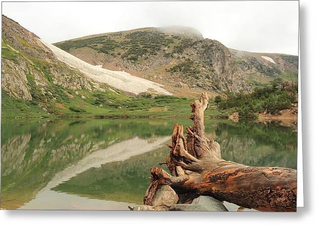 St. Mary's Lake And Glacier Greeting Card by Scott Rackers