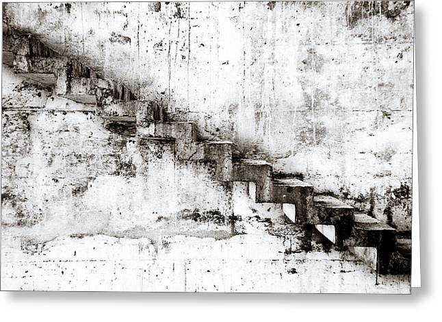 Stairs Greeting Card by Niels Nielsen
