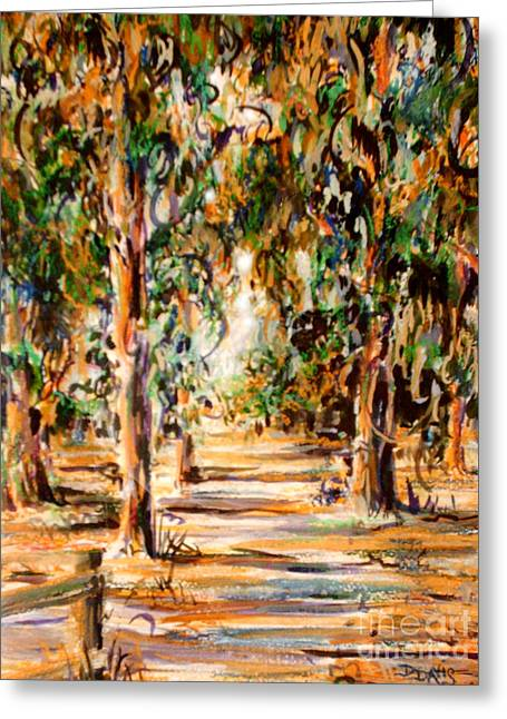 Stanford Eucalyptus Grove Greeting Card