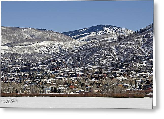 Steamboat Springs - Colorado Greeting Card by Brendan Reals