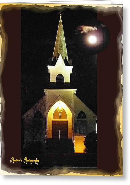 Greeting Card featuring the photograph Steeple Chase 3 by Sadie Reneau