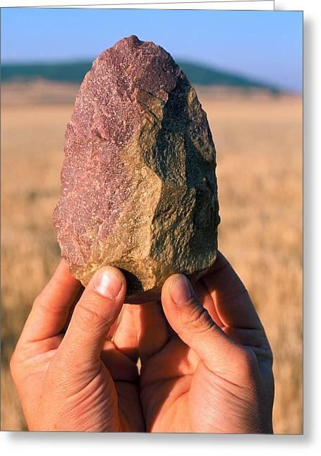 Stone Tool, Sima De Los Huesos Greeting Card