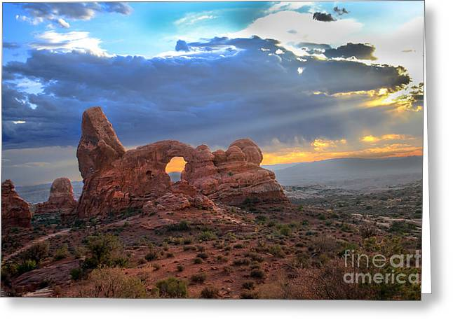Storm Clouds II Greeting Card by Robert Bales