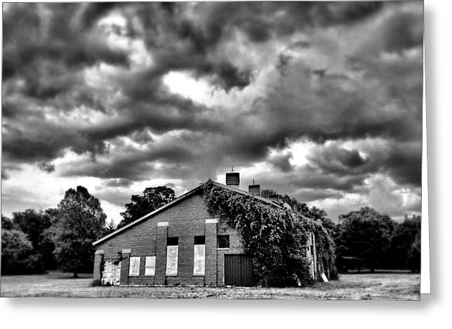 Stormy Monday #1 Greeting Card by John Derby
