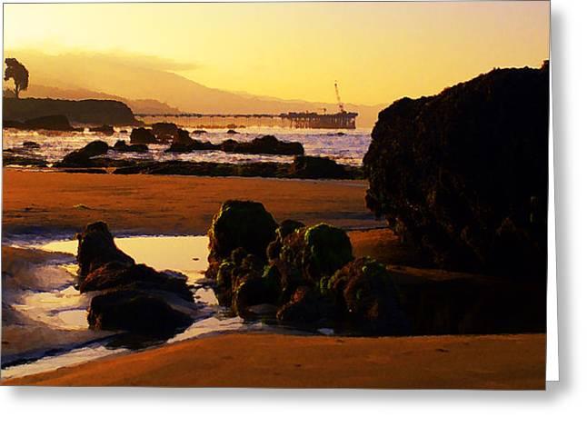 Summer Sunrise Greeting Card by Ron Regalado