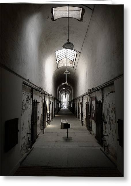 Sweet Home Penitentiary Greeting Card by Richard Reeve