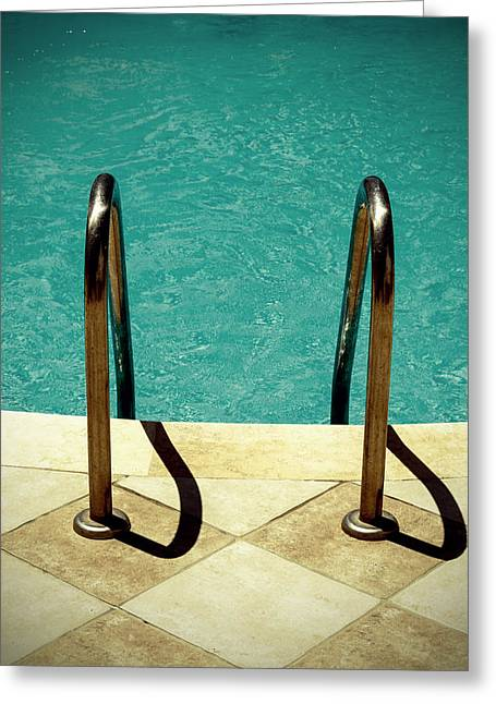 Swimming Pool Greeting Card by Joana Kruse