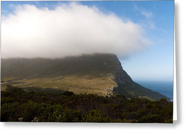 Table Mountain National Park Greeting Card by Fabrizio Troiani