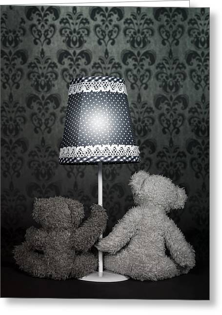 Teddy Bears Greeting Card by Joana Kruse