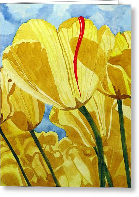 Tender Tulips Greeting Card