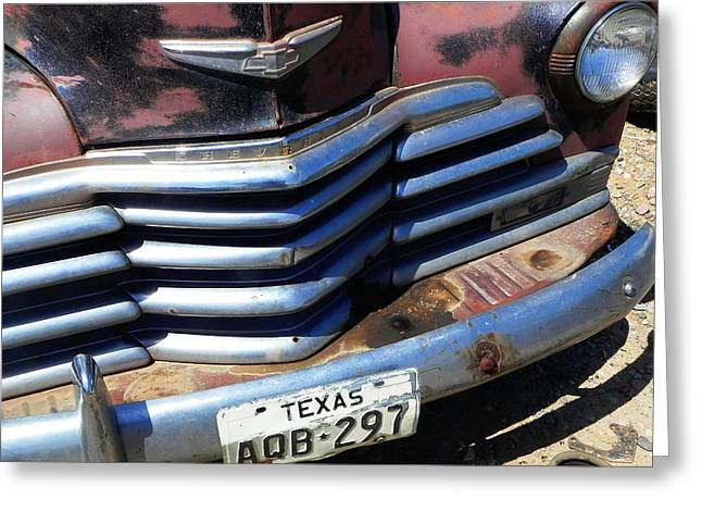Texas Greeting Card by Chuck Re