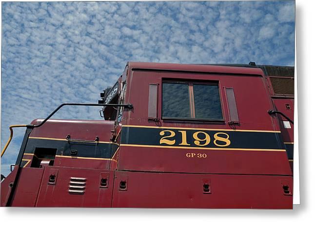 The 2198 Diesel Greeting Card by Steven Richman