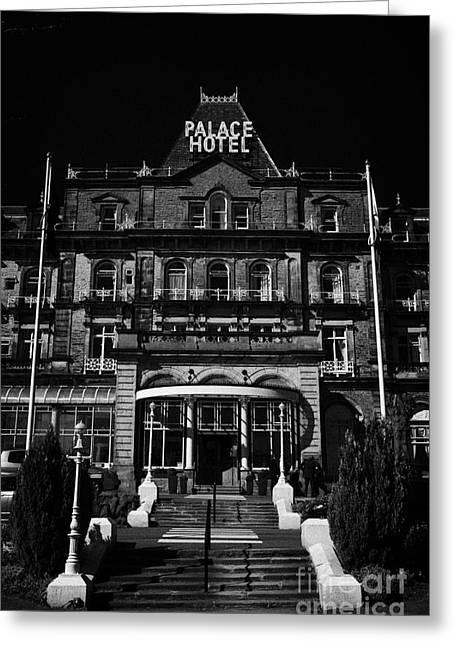 the Barcelo Palace Hotel Buxton Derbyshire England UK Greeting Card