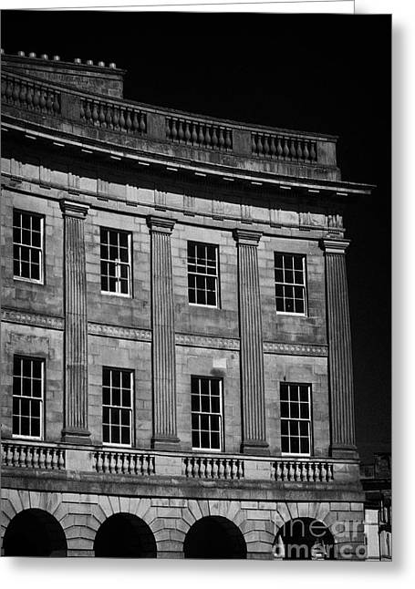 The Crescent Buxton Peak District Derbyshire England  Greeting Card
