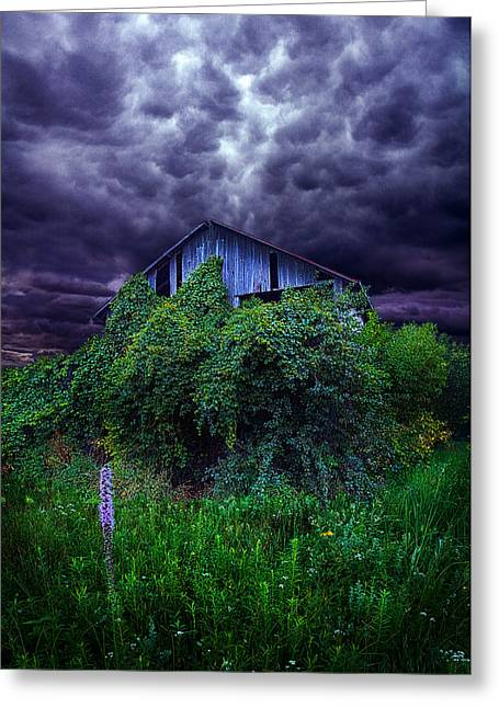 The End Greeting Card by Phil Koch