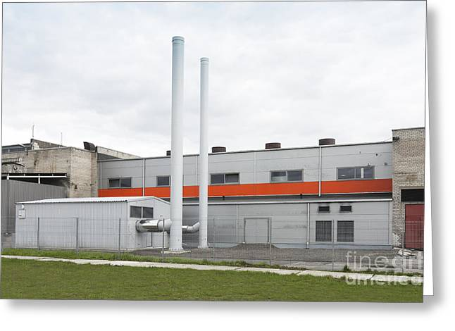 Manufacturing Greeting Cards - The Exterior Of A Factory Making Greeting Card by Jaak Nilson