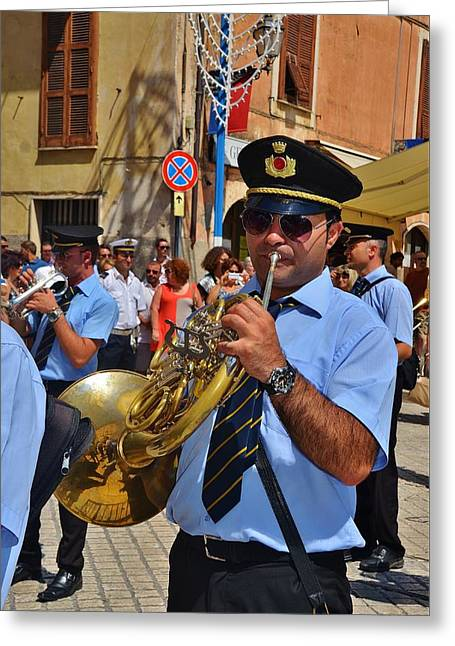 The Fanfare Greeting Card