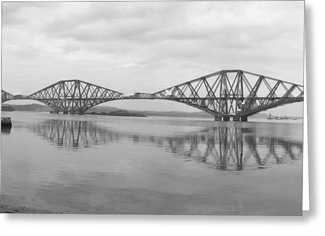 The Forth - Scotland Greeting Card by Mike McGlothlen