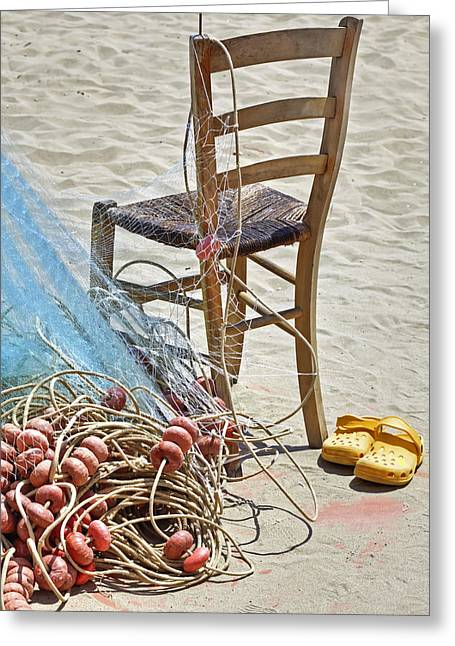The Place Of The Fisherman Greeting Card by Joana Kruse