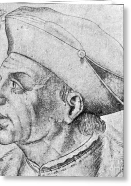 Thomas Linacre, English Scholar Greeting Card