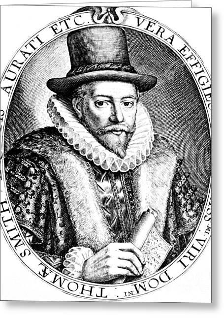 Thomas Smythe, English Merchant Greeting Card