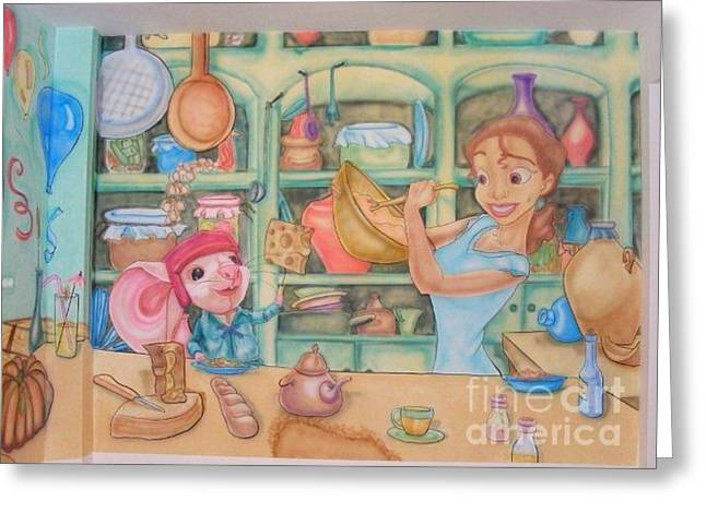 Tiana And Despereaux Greeting Card