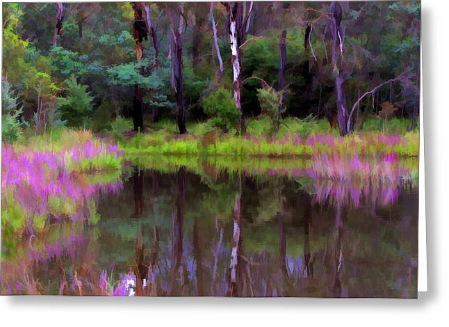 Tidbinbilla Reflections Greeting Card