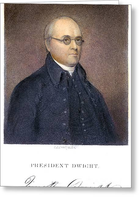 Timothy Dwight (1752-1817) Greeting Card by Granger