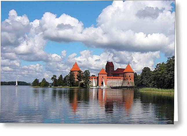 Trakai Castle Greeting Card