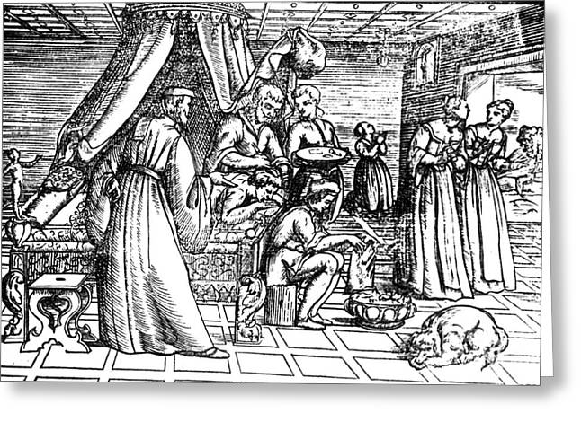Trepanning, 1573 Greeting Card by Science Source