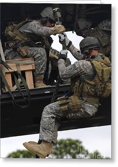 U.s. Special Operations Soldiers Greeting Card