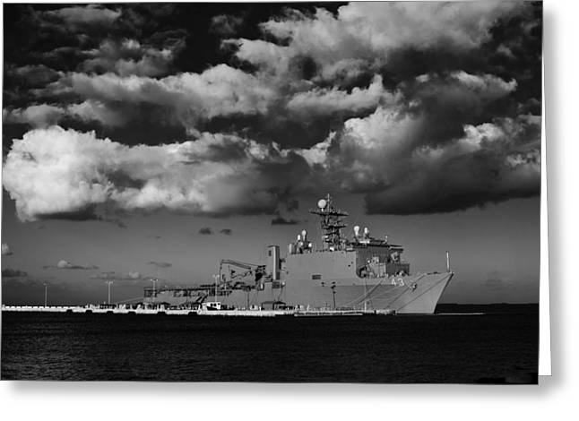 Uss Fort Mchenry Greeting Card