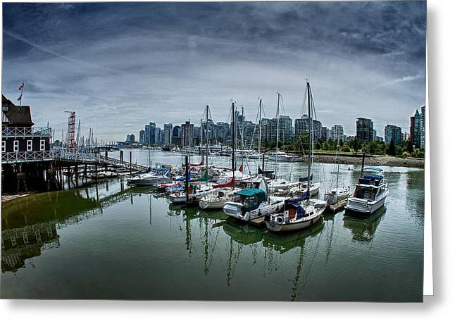 Vancouver Canada Greeting Card by Scott Holmes